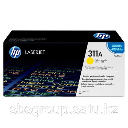 Картридж HP Q2682 для Color LJ 3700 yellow