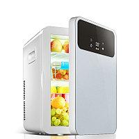 Холодильник автомобильный HYUNDAI с двойной системой охлаждения регулятор температуры 12V/220V
