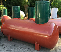 Резервуар РЕАЛ 8,6-ПОП объем 8,6 м3, диаметр 1200 мм
