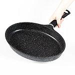 Сковорода овальная NIce Cooker Lock Series 36x26x5,1 см 2,5 л, фото 2