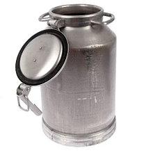 Фляга (бидон) 40л 16404 алюминиевая Белая Калитва