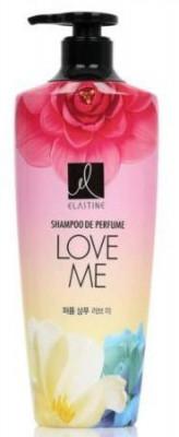 LG Elastine Perfume Love Me Шампунь Парфюмированный для всех типов волос 600мл.