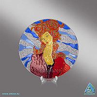 Стеклянная тарелка «Грация» (Сувенир), фото 1