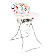 Стульчик TEA TIME Highchair цвет Alphabite Graco , фото 1