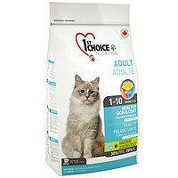 1st Choice Adult Healthy Skin & Coat (Фест Чойс) корм для кошек Здоровая кожа и шерсть с лососем, 350