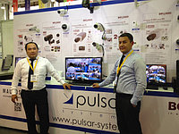 Первая международная выставка KAZAKHSTAN SECURITY SYSTEMS 2013 г. Астана. На выставке Pulsar Systems представила систему видеонаблюдения на альтернативных источниках энергии для удаленных объектов.