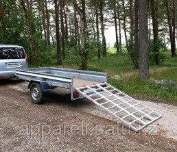 Алюминиевые аппарели 680 кг для снегохода, квадроцикла и мототехники.