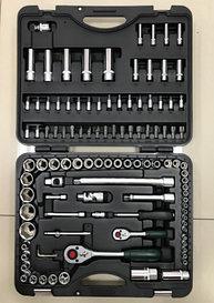 """Набор инструментов FORCE 1/2"""",1/4"""" CrV, пластиковый кейс 108 предметов"""