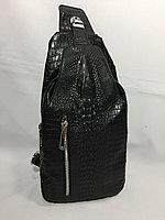 Мужская нагрудная сумка-кобура через плечо.Высота 30 см, ширина 15 см, глубина 7 см., фото 1