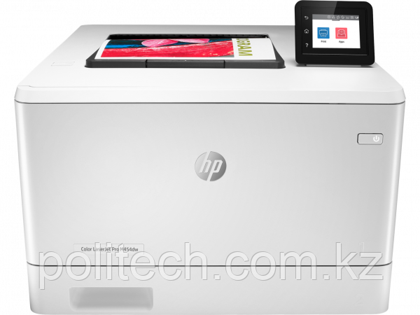 Принтер лазерный HP W1Y45A Color LaserJet Pro M454dw Printer, A4, 600 x 600dpi