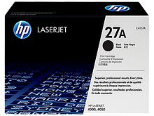 HP C4127A Картридж лазерный черный HP 27A для LaserJet 4000/4050/N/T/TN
