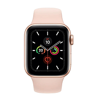 Apple watch series 5 40mm mwv72 gold aluminium case with pink sand sport band