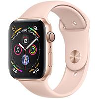 Apple Watch Series 4 44mm Gold Aluminium Case with Pink Sport Band