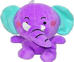 Слонник разного цвета на присоске 16*22см
