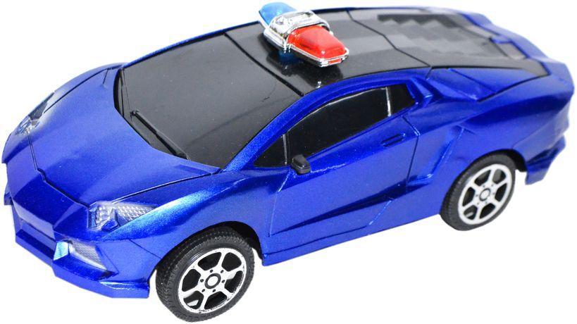 008A  Полицейские машины разные в пакете 23*15