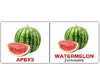 Комплект карточек Fruits/Фрукты