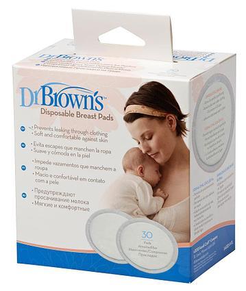 Прокладки  для груди одноразовые 30 шт DR Browns