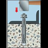 Анкер по бетону W-FA/S, M16X115/ 13мм,оцинк.сталь, фото 3