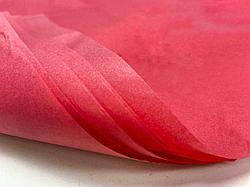 Тишью для оформления подарков. Цвет - Красный.