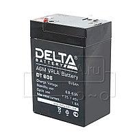 Аккумулятор Delta DT 606, фото 1