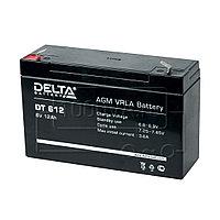 Аккумулятор Delta DT 612, фото 1