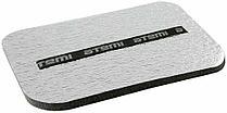 Сидушка Atemi металлизированная 350*240*15мм