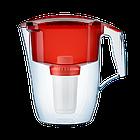 Фильтр-кувшин для воды Аквафор Гарри/водоочиститель (красный).