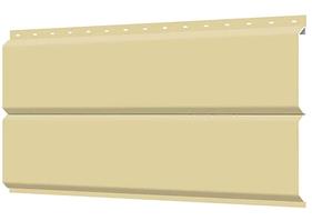 Металлосайдинг 240 мм RAL 1014 глянец Фасадная панель Europanel