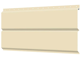 Металлосайдинг 240 мм RAL 1015 глянец Фасадная панель Europanel