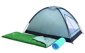 Палатки и спальники