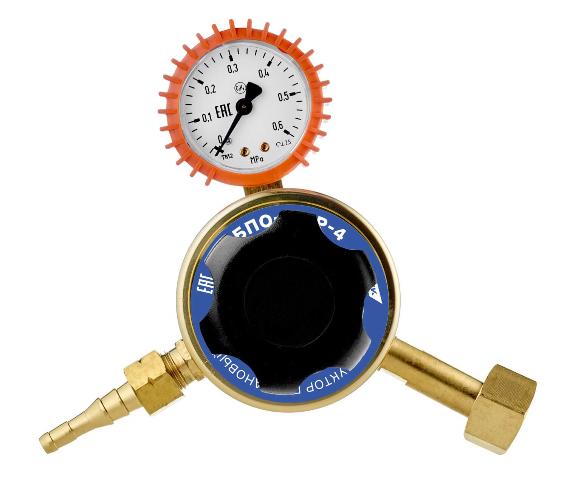 Редуктор баллонный газовый (пропан) одноступенчатый БПО 5-4 ПТК