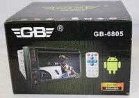 Автомагнитола GB-6805 (2DIN), фото 1
