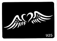 Трафарет для тату № 925