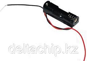 BOX Bat Holder 1*AA открытый контейнер для батареек