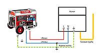 Схема подключения бензинового генератора к газовому котлу