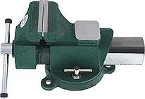 Тиски верстачные с наковальней 100 мм, 5411-04, HANS