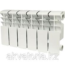 Rommer plus 200 6 секций радиатор алюминиевый (RAL9016)