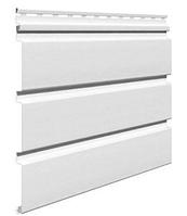 Софит виниловый 0,3x3,0 м (0,9 м2) Белый без перфорации VSV-08 Эконом Vilo