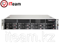 Сервер Supermicro 2U/1xSilver 4215R 3.2GHz/64Gb/2x480Gb+6x8Tb