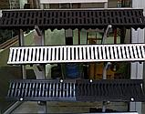 Поверхностный водоотвод. Канал с оцинкованной решеткой 125х80х1000мм Steelot тел. Whats Upp. 87075705151, фото 3