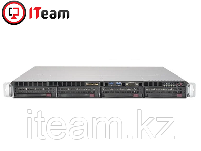 Сервер Supermicro 1U/Xeon E-2224 3,4GHz/16Gb/No HDD