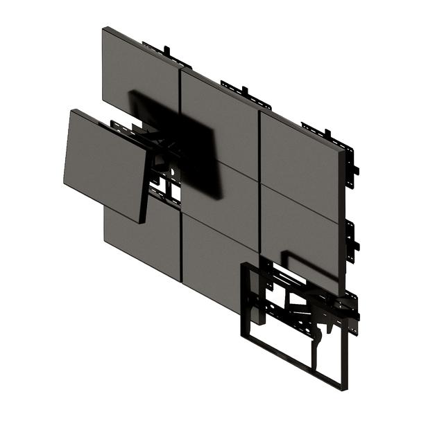 Крепления для видеостен и панелей