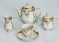 Сервиз чайный 12 персон 27 предм Rococo 0040 (Exclusive Bohemia, Чехия)