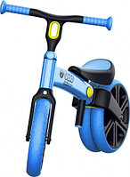 БЕГОВЕЛ YVOLUTION YVELO BALANCE BIKE 2018 REFRESH BLUE 4L/13L CL 2PK