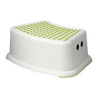 Табурет детский ФЁРСИКТИГ белый/зеленый ИКЕА, IKEA