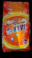 """Концентрированный стиральный порошок """"WELGREEN NEW POWER"""" 5кг."""
