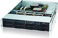 2U, 13.68''x13'', 8x3.5'' hot-swap SAS/SATA with SES2, 7xLP, 437x89x648mm, 56OW GOLD