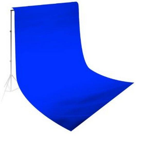 Студийный тканевый фон 3 м × 2 м синий