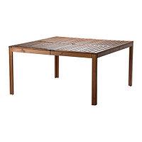 Стол садовый ЭПЛАРО коричневая морилка ИКЕА, IKEA
