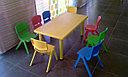 Стульчик детский пластиковый литой (фиолетовый), фото 4